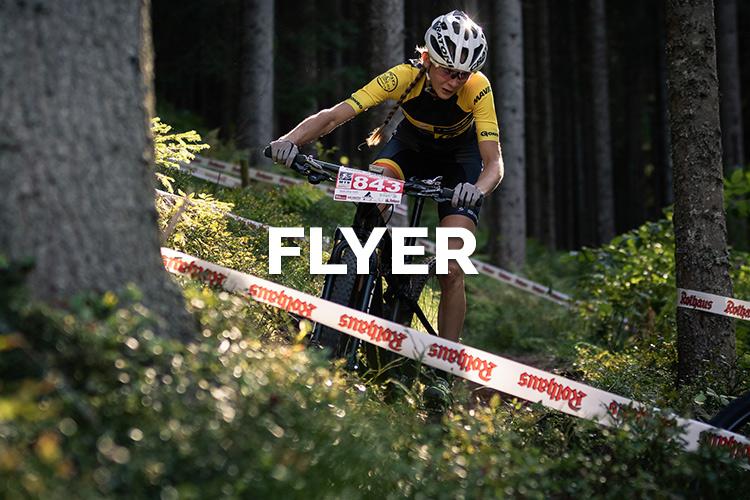 Flyer MTB Bundesliga Singer Wäldercup